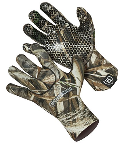 Stormr Men's Stealth Decoy Glove, Realtree Max-5, Camouflage & Camo Hunting Gloves (XL)