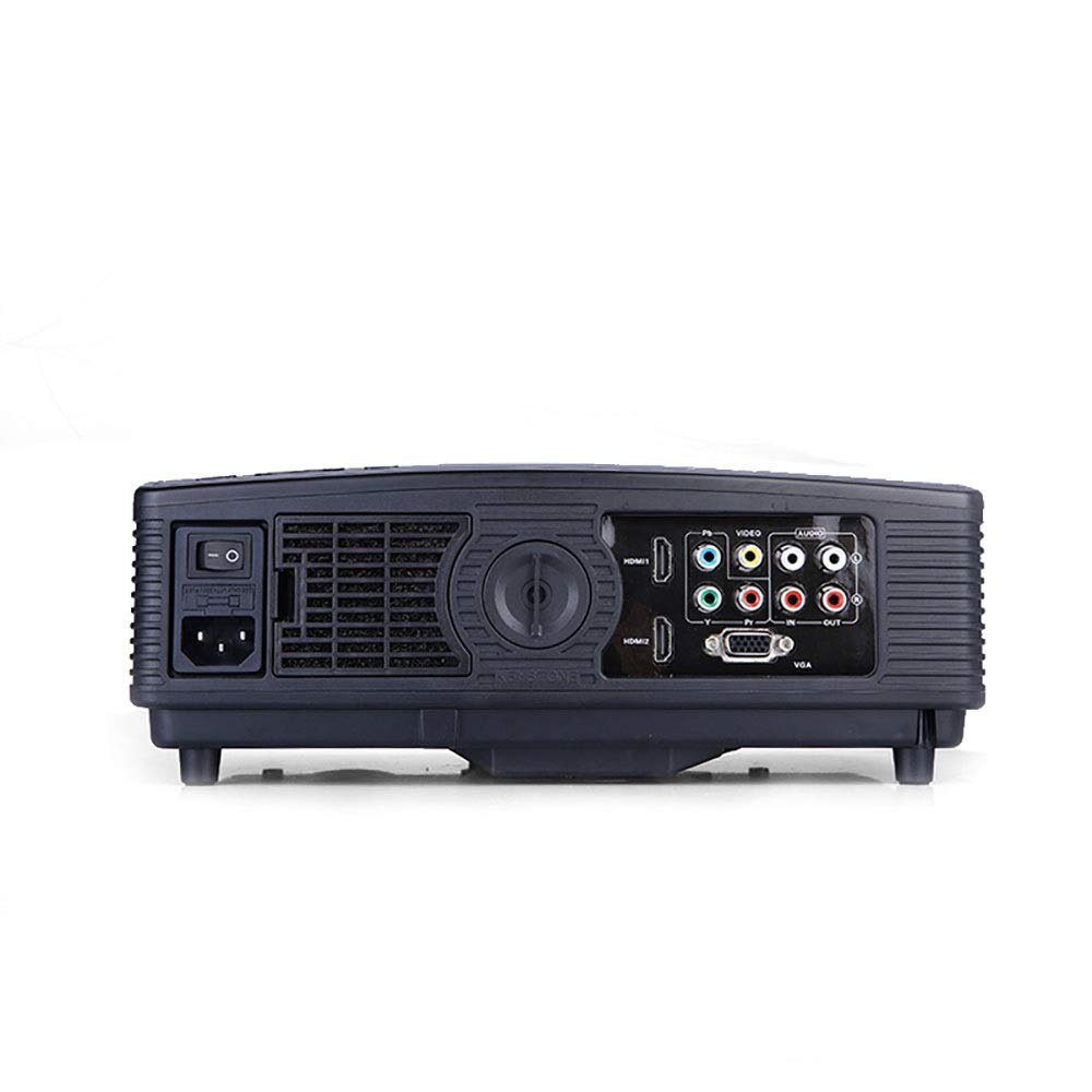 LiChenYao HD Projector SUV-328 LED Home Office Education Multi-Function Projector (Color : Black) by LiChenYao (Image #2)