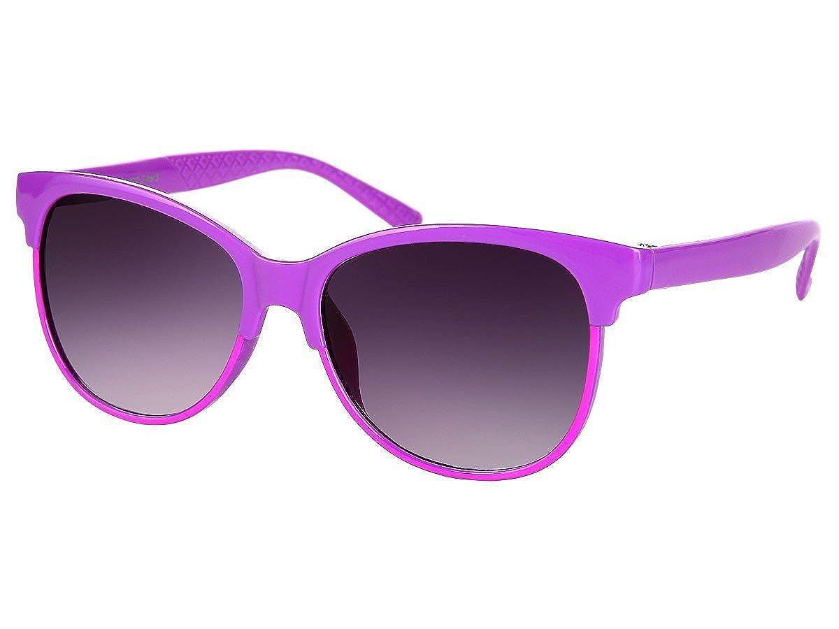 Alsino Farbige Retro Kinder Sonnenbrille Viper