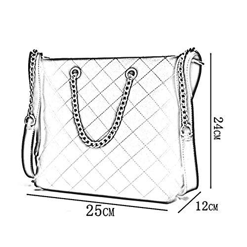 Mme À Décontracté Fv8216 Bag La Pu Zhwei 24cm Messenger Bandoulière Paquet Mode Femme Sac Main Élégant Carré 04 25 Petit 14 65BwBxCq