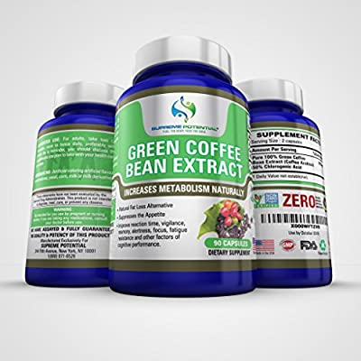 Green Coffee Bean Extract By Supreme Potential