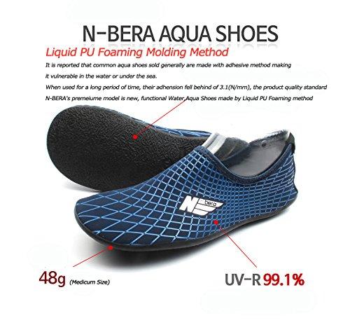 Wowfoot Water Sports Zapatos De Piel Adultos Niños Slip On Aqua Pies Calcetines De Playa Surf Pool Suela Duradera Negro