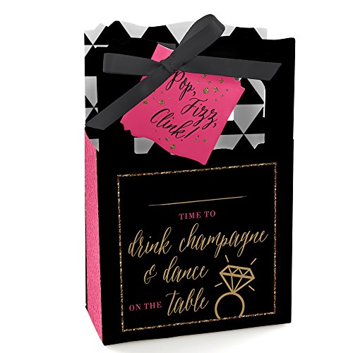(Girls Night Out - Bachelorette Party Favor Boxes - Set of 12)