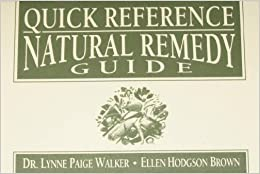 Book Quick Reference Natural Remedy Guide