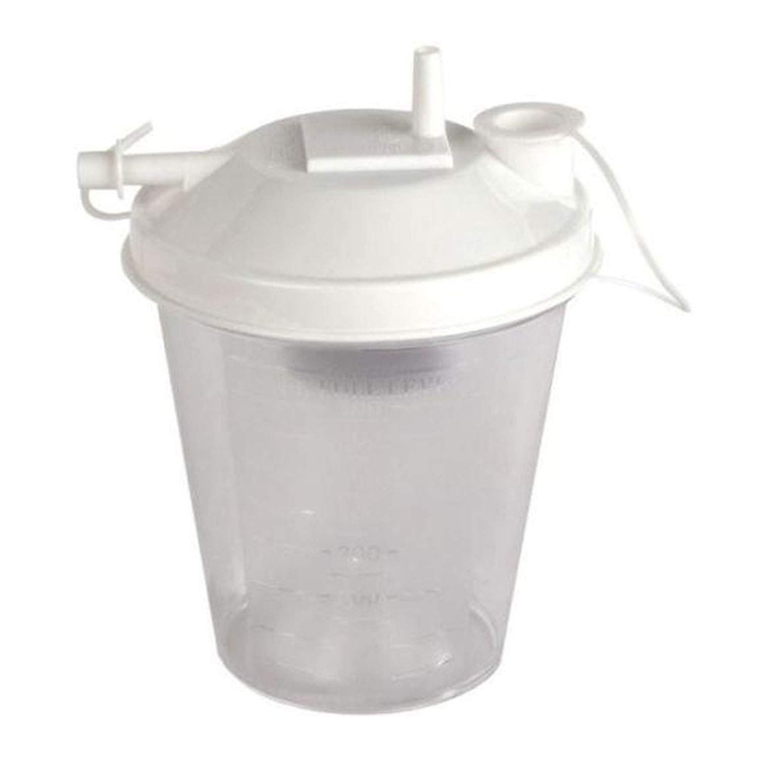 800cc Universal Suction Canister with 1/4'' Tubing, Suction Tubing Connector, Bacteria Filter