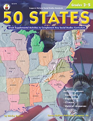 (Carson Dellosa CD-0774 50 States 176 Pages Gr 3-5)