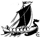 Dragon Head Viking Ship Wax Seal Stamp
