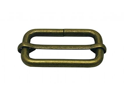 4a5755dbcc254 Image Unavailable. Image not available for. Color: Generic Metal Bronze  Rectangle Buckle ...