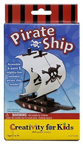 Creativity for Kids Pirate Ship Kit by Creativity for Kids