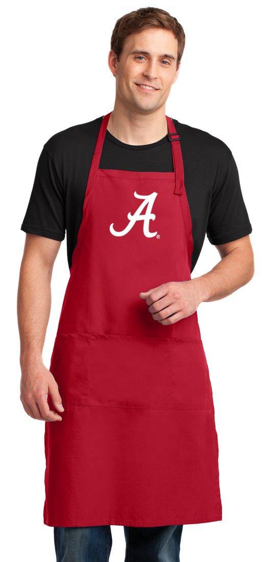 Broad Bay Large UA University of Alabama Mens Apron or Womens Aprons Top Alabama Gift for Him