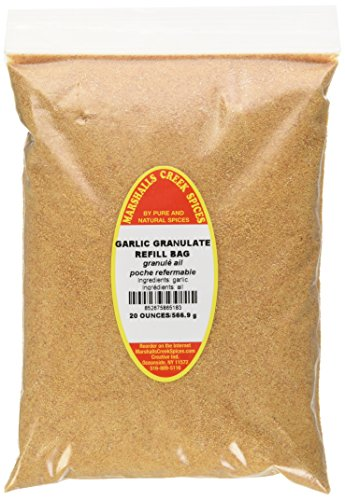 Marshalls Creek Spices Refill Pouch Granulated Garlic Powder Seasoning, XL, 20 Ounce by Marshall's Creek Spices