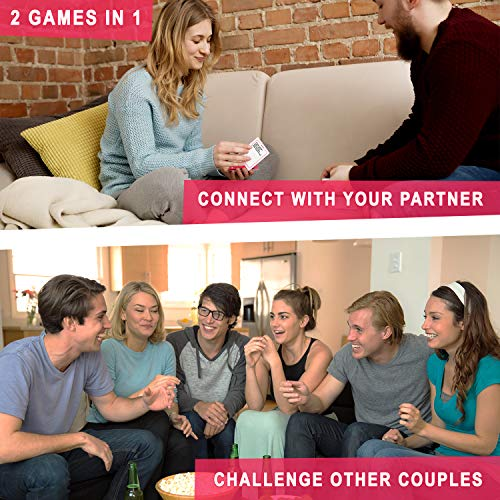 The Ultimate Game for Couples – Great Conversations and Fun Challenges for Date Night – Perfect Romantic Gift for…