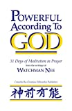 Powerful According to God, Nee Watchman, 0935008853
