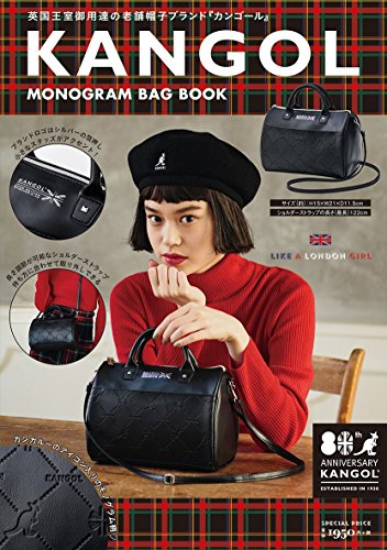 KANGOL MONOGRAM BAG BOOK 画像
