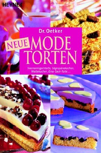Neue Modetorten: Seemannsgarntorte, Sägespänekuchen, Wattekuchen, Erna-Sack-Torte