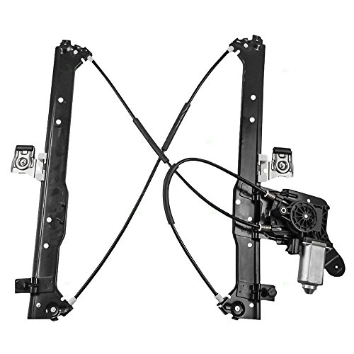 Drivers Rear Power Window Lift Regulator & Motor Assembly Replacement for Chevrolet Cadillac GMC Pickup Truck (Cadillac Escalade Esv Power Window)