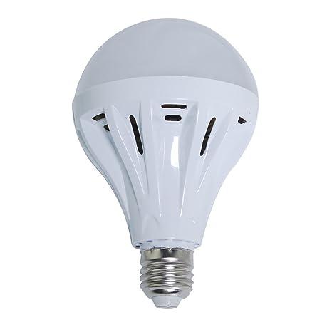 THG 2 pedazos de 12W 1200LM E27 Bombillas LED con 24 5730 SMD LED Voltaje 200-240V Shell plš¢stico blanco fresco: Amazon.es: Iluminación