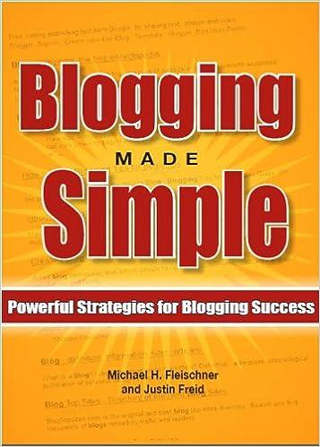 Gratis mp3 downloade lydbøger Blogging Made Simple: Powerful Strategies For Blogging Success! PDF B007TOS6BA
