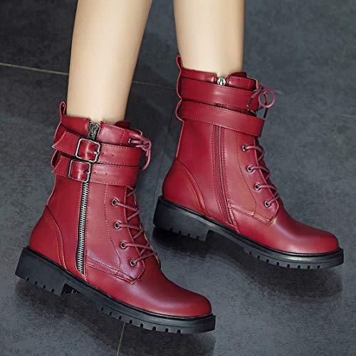 37 37 Rot Rosso Classici Stivali Stivali EU AIYOUMEI Donna IwcqCXgw1