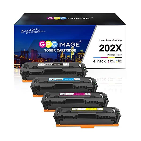HP toner cartridge 202X by GPC