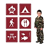 ceiba tree Jumbo Camping Sign Cutouts for Parties and School Events