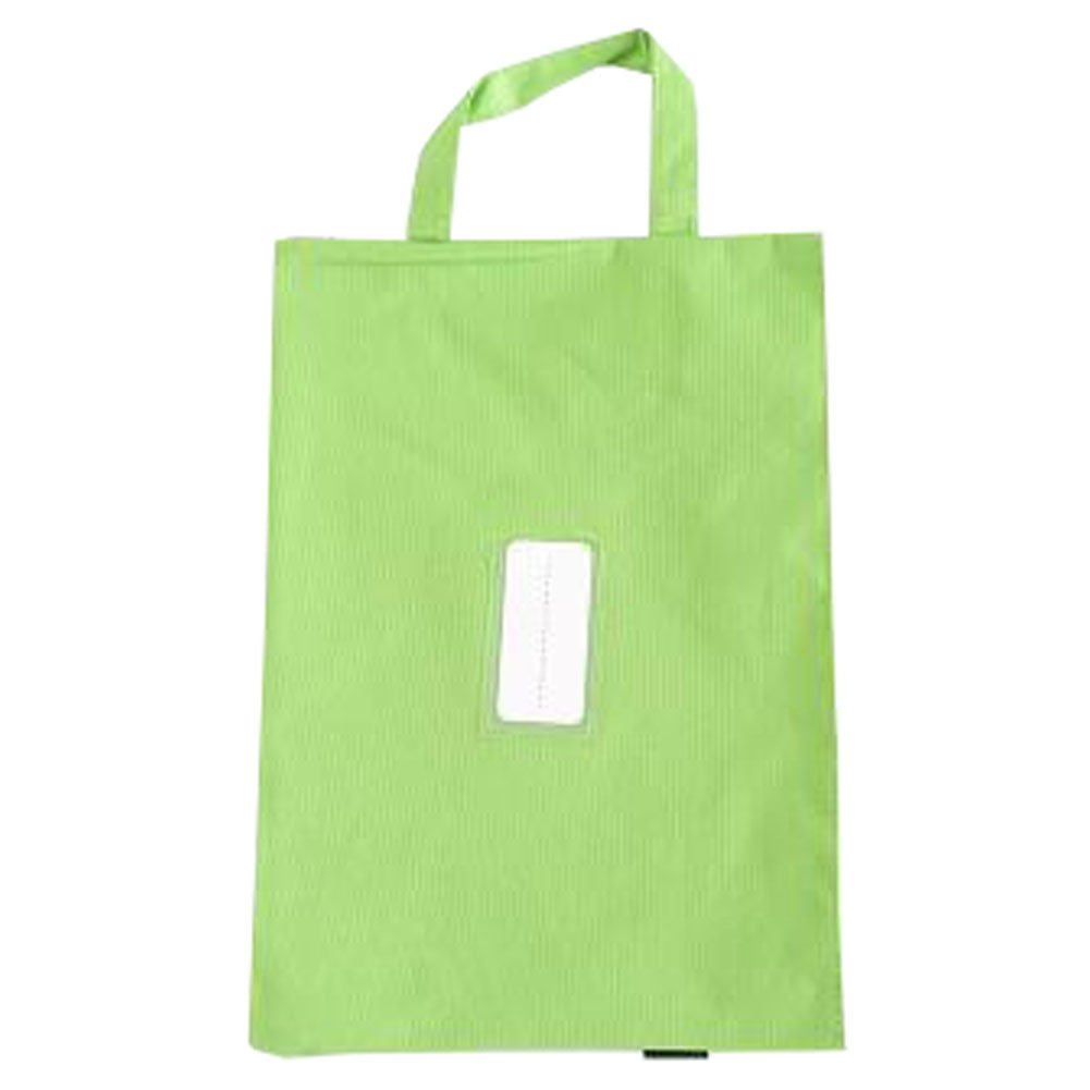 Cute File Bag Stationery Bag Pouch File Envelope for Office/School Supplies, Green