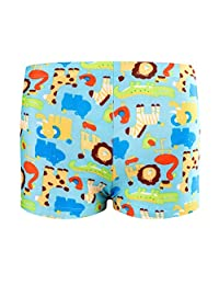 HUPLUE Baby Boys Swim Trunk Beach Shorts Swimsuit Swim Shorts Underpants Cute Cartoon Colorful