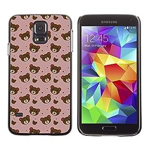 ZECASE Funda Carcasa Tapa Case Cover Para Samsung Galaxy S5 I9600 No.0000049