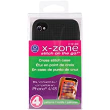 iPhone 4 Case Counted Cross Stitch Kit-Black