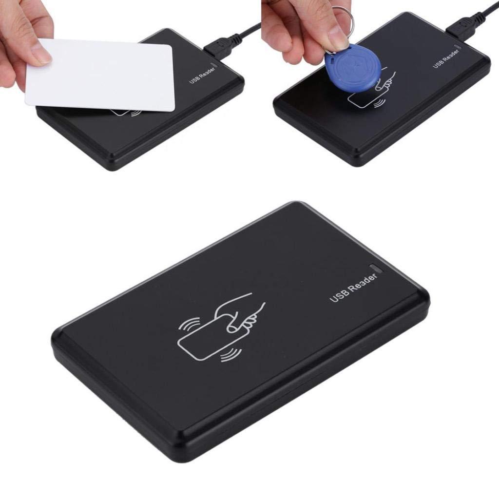 Kopierer 125 kHz USB-RFID-ID-Kartenleser /& Schreiber /& -Kopierer mit 5-TLG Schl/üsseletikett f/ür Haus//Wohnung//Fabrik Sicheres System Tonysa Standalone-Zutrittskontrollkartenleser