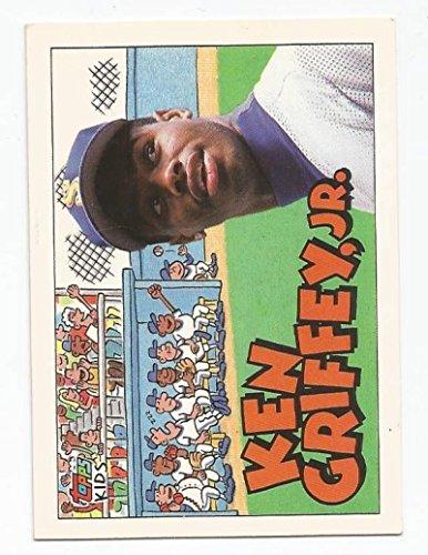 Baseball MLB 1992 Topps Kids #122 Ken Griffey Jr #122 NM Near Mint (Griffey Big Kids)