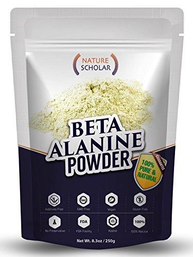Beta Alanine Powder Pure 250g - Pre Workout Powder - Sports Nutrition Supplement Powder - Preworkout Beta Alanine Optimum Nutrition