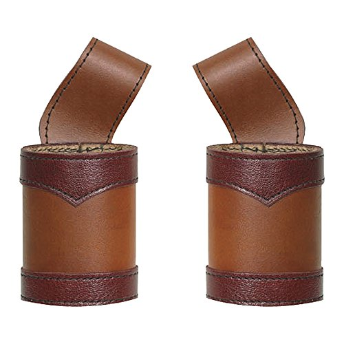 [Warlords LARP Leather Frog Right Handed - Brown] (Warlord Costumes)