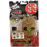 Grip & Tricks - Finger SCOOTER - Skate - Pack1 - Dimensions: 22 X 13,5 X 2 cm