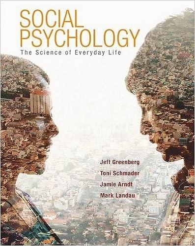 amazoncom social psychology the science of everyday life  amazoncom social psychology the science of everyday life  jeff greenberg toni schmader jamie arndt mark landau books
