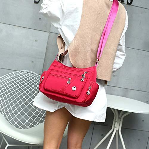 Pink Féminine Mill Sacs Pink Mode Hot La À gd88 Une Nylon Épaule Bandoulière En hot Imperméables qPwBx5ZSq