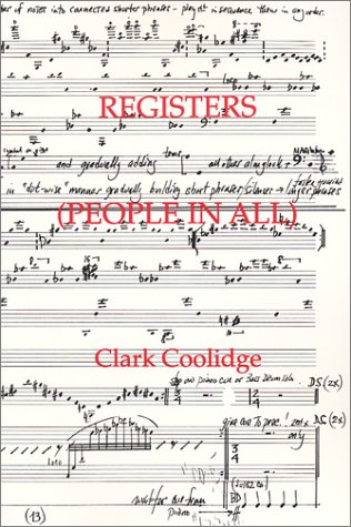 Registers (People in All) (Clark Coolidge)