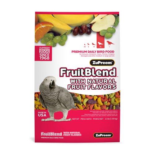 ZuPreem Fruitblend Flavor Medium-Large 17.5lb