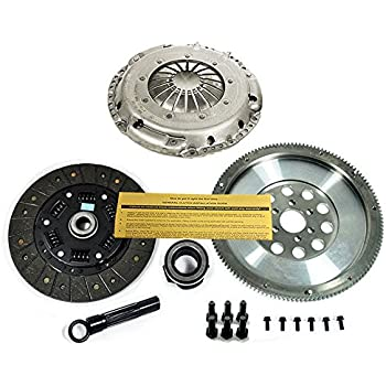 SACHS-EFT STAGE 2 CLUTCH KIT & RACE FLYWHEEL VW GOLF JETTA 1.8T TURBO 1.8L 5-SPD