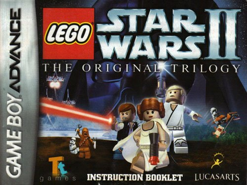 Instructions Star Wars Legos (Lego Star Wars II The Original Trilogy GBA Instruction Booklet (Game Boy Advance Manual Only) (Nintendo Game Boy Advance Manual))