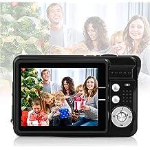 HD Mini Digital Video Camera,Point and Shoot Digital Video Cameras(Black)--Birthday&Christmas Present