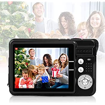 HD Mini Digital Video Cameras for Kids Teens Beginners,Point and Shoot Digital Video Recorder Cameras--Travel,Camping,Outdoors