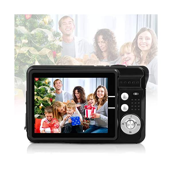51CN7Eil cL. SS600 - HD Mini Digital Video Cameras for Kids Teens Beginners,Point and Shoot Digital Video Recorder Cameras-Travel,Camping,Outdoors