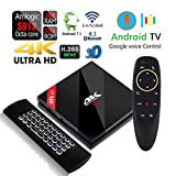 Apes H96 Pro+ Voice Control Dual WiFi 5G Octa Core 32GB/3GB Android 1080p 4K 3D Amlogic S912 Bluetooth 4.1 TV Box + Air Mouse Wireless Keyboard Remote A Plus Electronic
