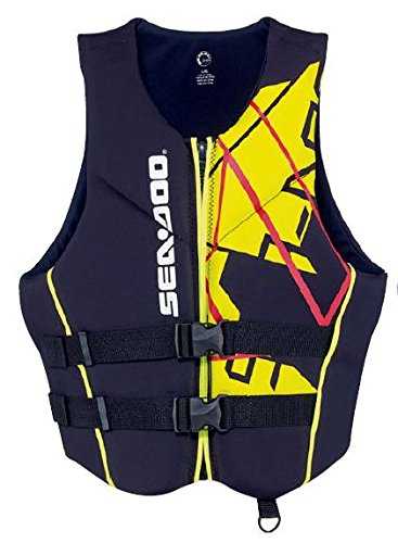 Sea Doo Mens Freedom PFD YELLOW SMALL by Sea-Doo