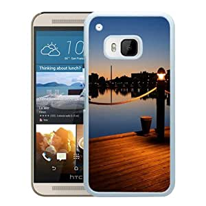 Wooden Pier Dusk Light (2) Durable High Quality HTC ONE M9 Phone Case