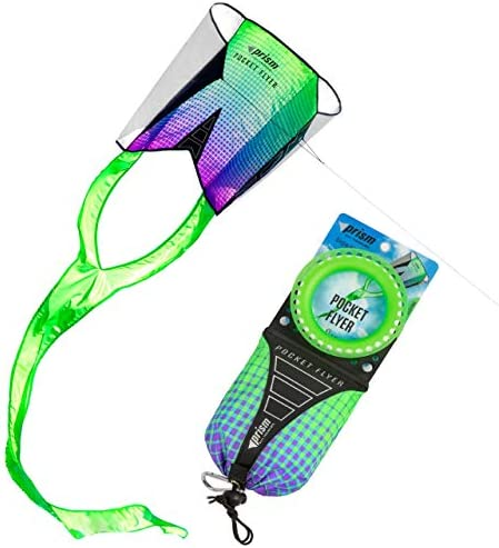 Pocket Flyer Single Line Kite Electric - Ready for Flight Wherever Adventure Takes You