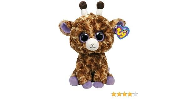 - 6 inch SG/_B00DOQLQAK/_US SAFARI the Giraffe - Solid Eye Color TY Beanie Boos