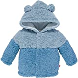 Magnificent Baby Baby Boys' Magnetic Smart Bears Ombre Fleece Jacket C, Blue Ombre, 18-24 Months