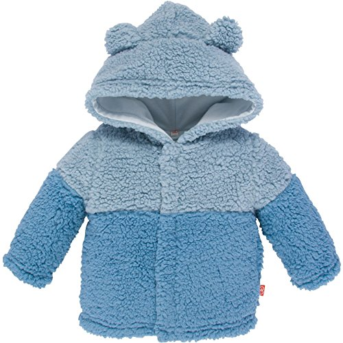 (Magnificent Baby Baby Boys' Magnetic Smart Bears Ombre Fleece Jacket C, Blue Ombre, 18-24 Months)